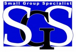 SGS Logo for Small Group Specialist in Texas